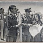 21 Μαϊου 1945, Παράδοση Ιστορικής Πολεμικής Σημαίας 5ου Συντάγματος