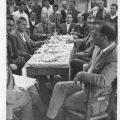 1964, Visite de Petros Garefis, Préfet de Trikala, à Kallirroi
