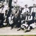 16 Αυγούστου 1937. Όρθιος από αριστερά Νικόλαος Λεοντάρης
