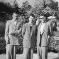 1960, από αριστερά Γεώργιος Κοσκώνης, Ιωάννης Μουζακιάρης και Νικόλαος Λεοντάρης στο Λευκό Πύργο