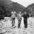 1961, Gendarme, Brigadier de la Gare de Katafyto et Nikolaos Leontaris, Président de la Commune