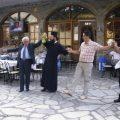 15 Αυγούστου 2008, σέρνω το χορό, υποβασταζόμενος από τον Ιερέα του χωριού.