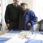 02 Μαρτίου 2012, με τον Αντισυνταγματάρχη Πεζικού Θεόδωρο Παπαθεοδώρου, στη Σ.Μ.Υ.