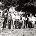 1960, Construction du premier réseau d' adduction d' eau à Kallirroi